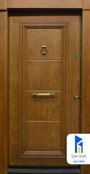 درب ضد سرقت تک قاب برجسته SD109