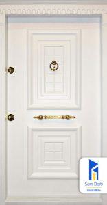 درب ضد سرقت ونوس سفید SD118