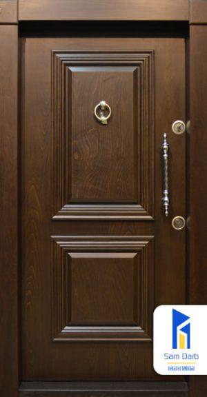 درب ضد سرقت کلاسیک دو قاب