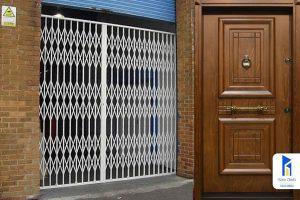 حفاظ آکاردئونی یا درب ضد سرقت، کدام را بخریم؟