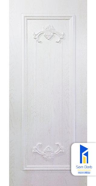 درب اتاق سفید PVC-M201