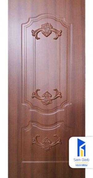 درب اتاق خواب روکش پی وی سی PVC-M201