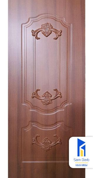 درب اتاق خواب روکش پی وی سی