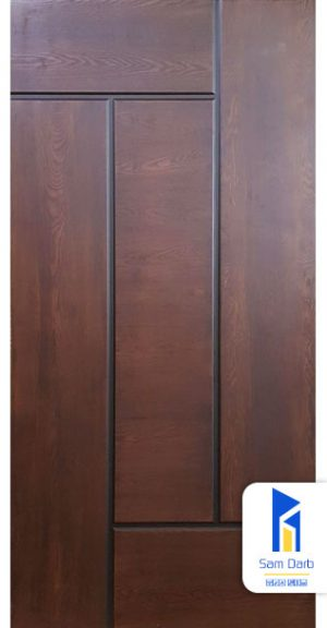 درب اتاقی طرح پازلی PVC-C402