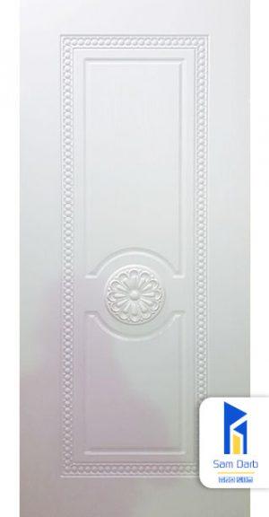 درب اتاق خواب سفید PVC-M203