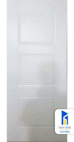 درب ساختمان سفید PVC-C412
