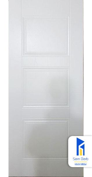 درب ساختمان سفید