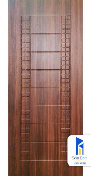 درب اتاق روکش پی وی سی CNC PVC-C403
