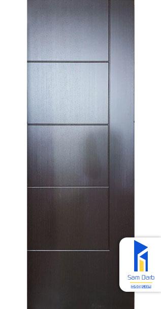 درب اتاق چوبی CNC