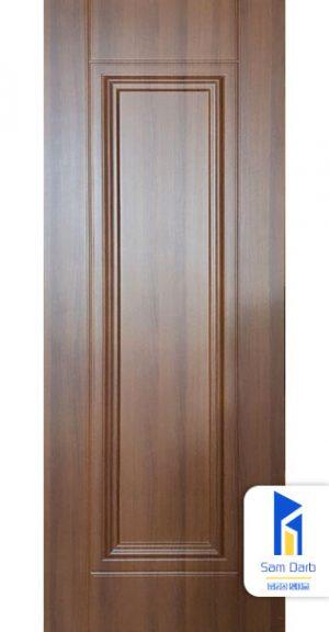 درب اتاقی برجسته تک قاب PVC-B302